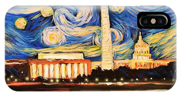 D.c. Starry Night IPhone Case