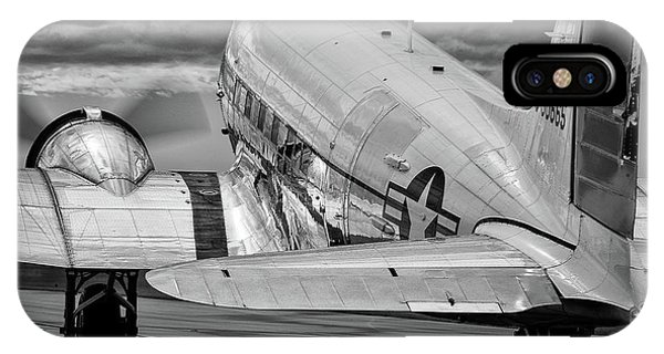Dc3 Taxiing For Departure IPhone Case