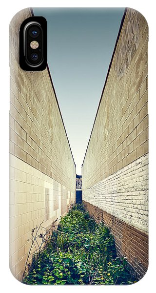 Minimalist iPhone Case - Dead End Alley by Scott Norris