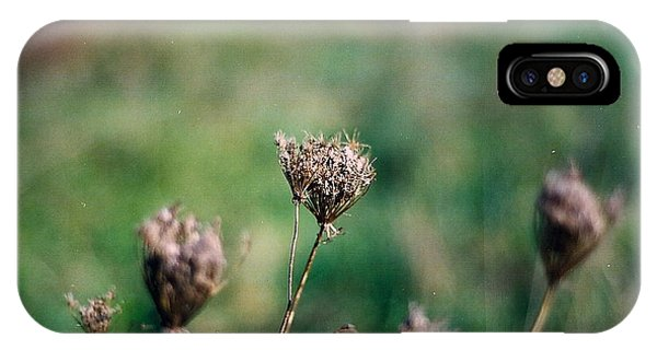 Dead Flower Phone Case by Simonne Mina