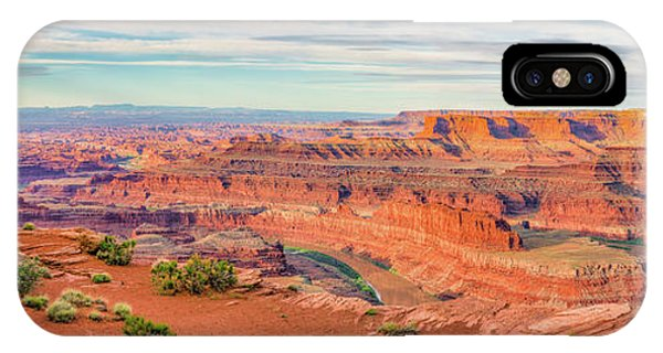 Dead Horse Point Panorama IPhone Case