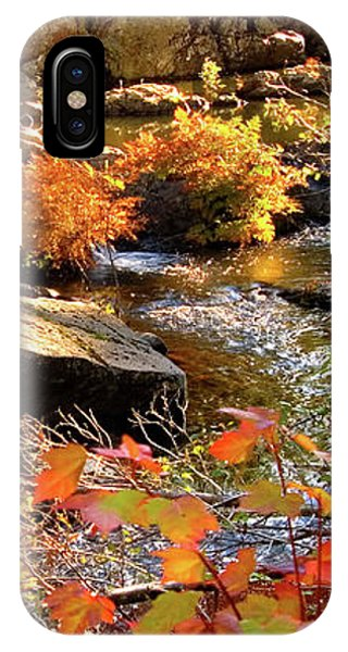 4 Of 6 Dead River Falls  Marquette Michigan Section IPhone Case