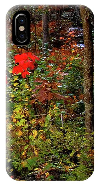 6 Of 6 Dead River Falls  Marquette Michigan Section IPhone Case