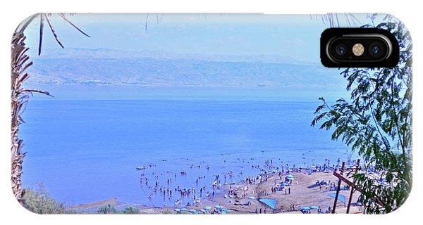 Dead Sea Overlook 2 IPhone Case