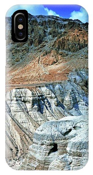 Dead Sea Scroll Caves IPhone Case