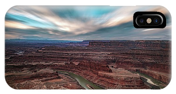 Deadhorse Point Sunrise IPhone Case