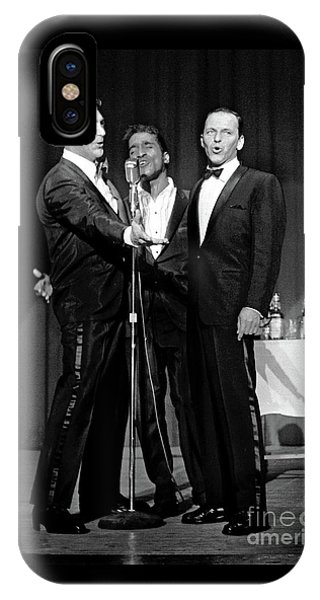 Dean Martin, Sammy Davis Jr. And Frank Sinatra. IPhone Case