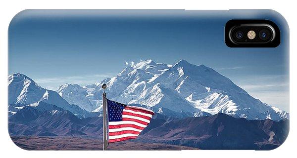 Denali Salute IPhone Case