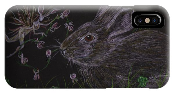 Dearest Bunny Eat The Clover And Let The Garden Be IPhone Case