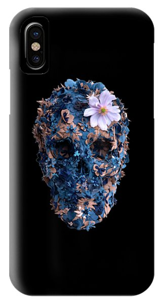 Skull 9 T-shirt IPhone Case