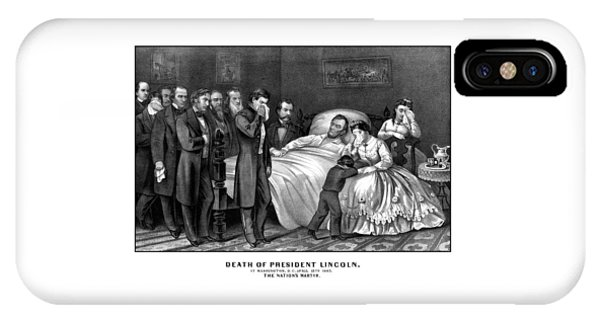 Death Of President Lincoln IPhone Case