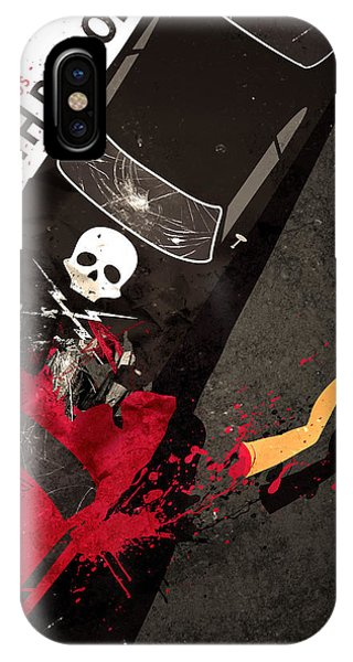 Death Proof Quentin Tarantino Movie Poster IPhone Case