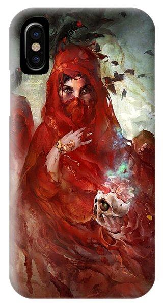 Death iPhone Case - Death by Te Hu
