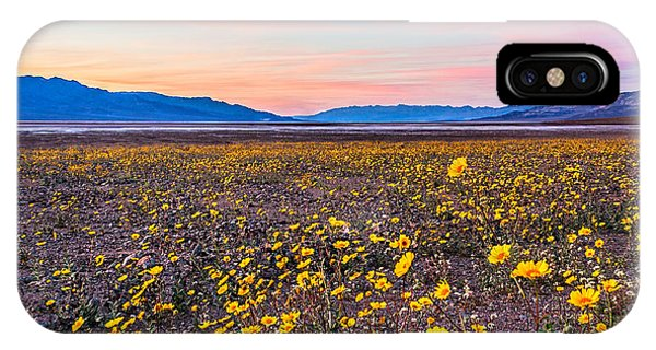 Death Valley Sunset IPhone Case