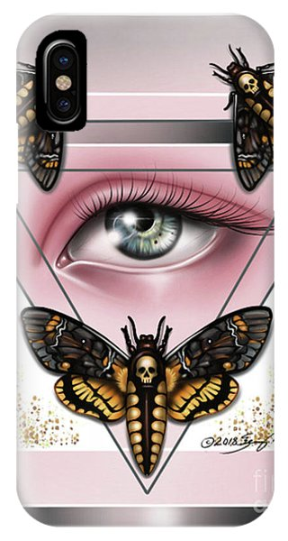Death's Head Moths IPhone Case