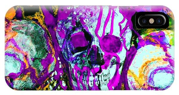 Deathstudy-1 IPhone Case