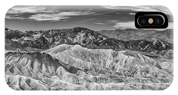 Deathvalley Cracks And Ridges IPhone Case