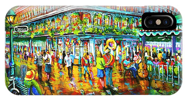 French Artist iPhone Case - Decatur Evening by Dianne Parks