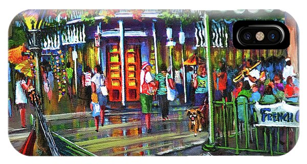 French Artist iPhone Case - Decatur Street by Dianne Parks