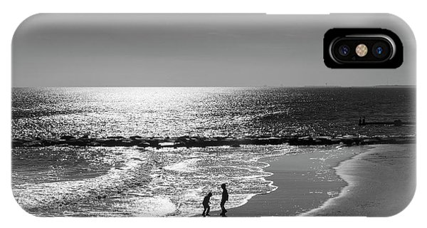 December At The Jersey Shore IPhone Case