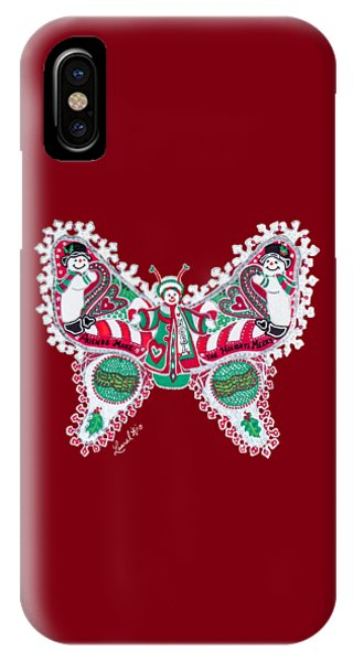December Butterfly IPhone Case