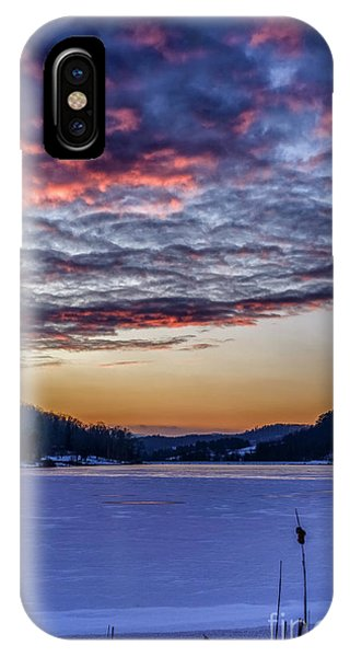 iPhone Case - December Dawn On The Lake by Thomas R Fletcher