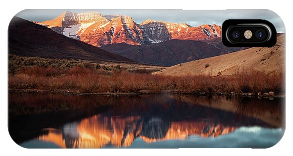 December Glow On Timp. IPhone Case