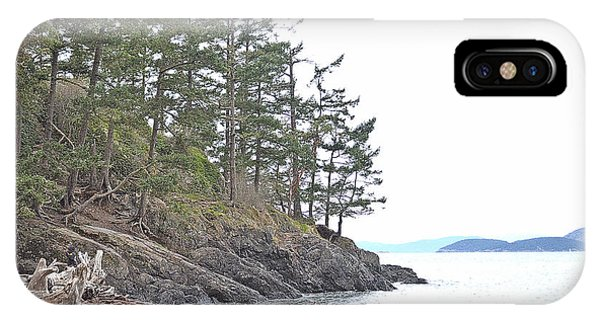 Deception Pass In Late December  IPhone Case