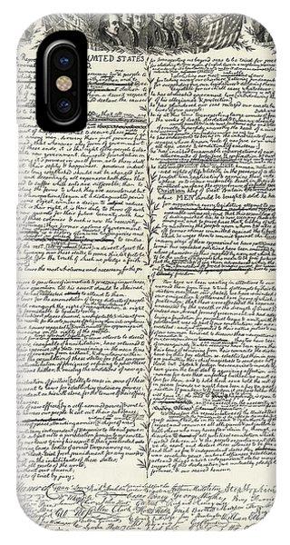 Allison iPhone Case - Declaration Of Independence by Granger
