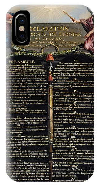 Declaration Of The Rights Of Man And Citizen IPhone Case