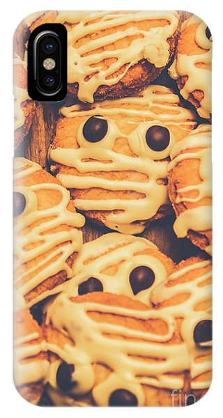 Layer iPhone Case - Decorated Shortbread Mummy Cookies by Jorgo Photography - Wall Art Gallery