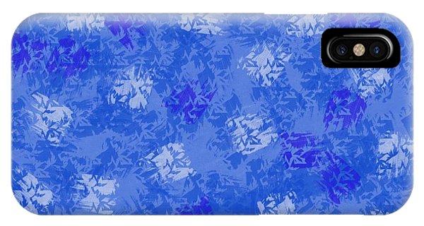 The Art Of Gandy iPhone Case - Decorative Blueprint by Joan Ellen Gandy
