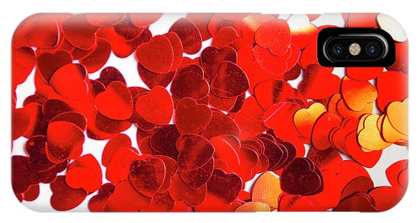Valentine iPhone Case - Decorative Heart Background by Jorgo Photography - Wall Art Gallery