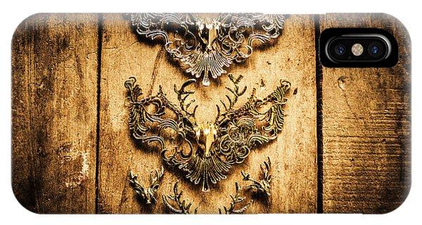 Decorative Moose Emblems IPhone Case