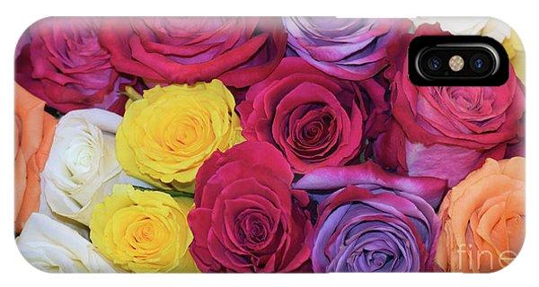 Decorative Wallart Brilliant Roses Photo B41217 IPhone Case