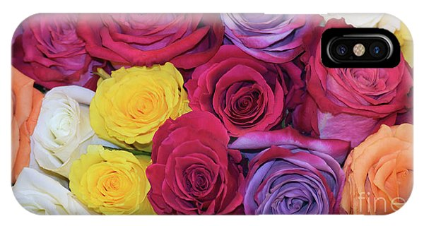 Decorative Wallart Brilliant Roses Photo B41217 IPhone Case
