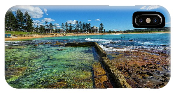 Dee Why Rock Pool IPhone Case