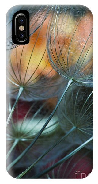 Deep Blue Dandelions IPhone Case