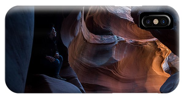 Deep In The Canyon IPhone Case