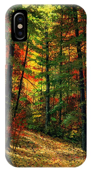 Deep In The Forest IPhone Case