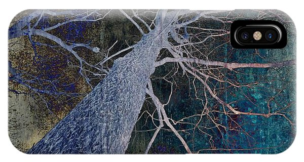 Teal iPhone Case - Deep In The Woods by Marianna Mills - Anthony Quinn