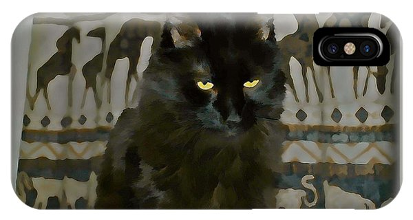 iPhone Case - Deep In Thought by Raven Hannah
