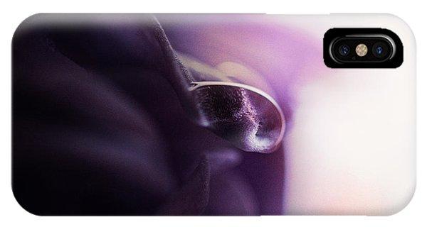 Deep Purple Velvet IPhone Case