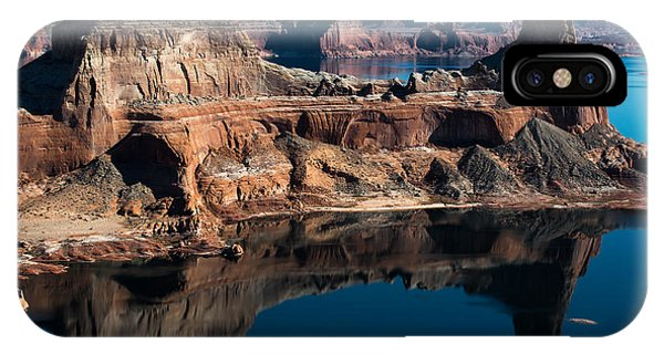 Deep Reflections In Lake Powell IPhone Case