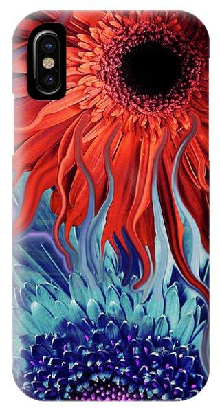 Deep Water Daisy Dance IPhone Case