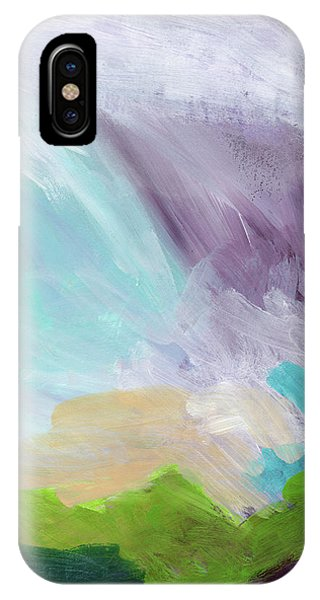 Prayer iPhone Case - Deepest Breath- Abstract Art By Linda Woods by Linda Woods