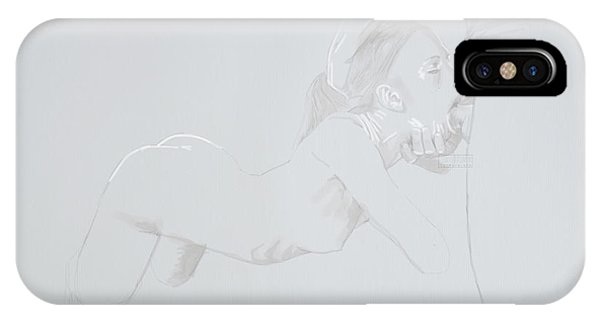 IPhone Case featuring the mixed media Deepthroat by TortureLord Art