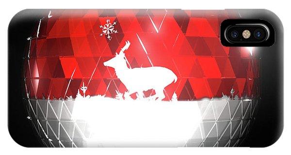 iPhone Case - Deer Bauble - Frame 103 by Jules Gompertz