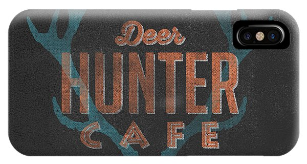 Vintage iPhone Case - Deer Hunter Cafe by Edward Fielding