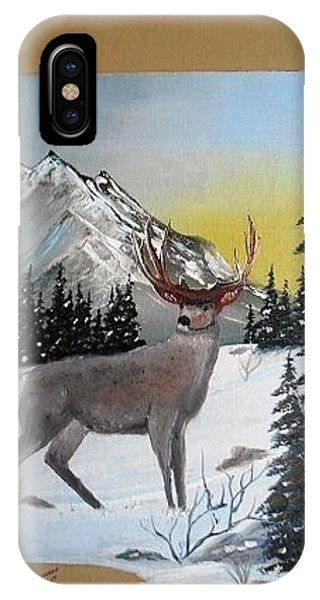 Deer Hunter's Dream IPhone Case